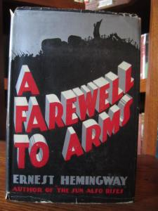"A Farewell to Arms by Ernest Hemingway (Grosset & Dunlap ""Novel of Distinction"")"