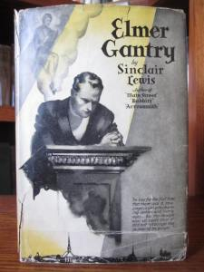 "Elmer Gantry, by Sinclair Lewis (Grosset & Dunlap ""Novels of Distinction"" edition)"