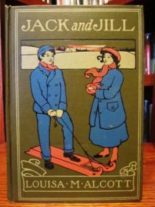 Jack and Jill, by Louisa M. Alcott (Boston: Little Brown, 1920)  Signed binding - AS - Amy Sacker)